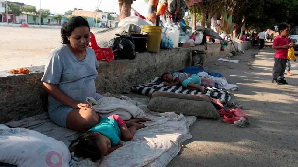 Crisis venezolana eleva a 50 millones la población de Colombia - Migrantes venezolanos en Colombia. Foto de EFE