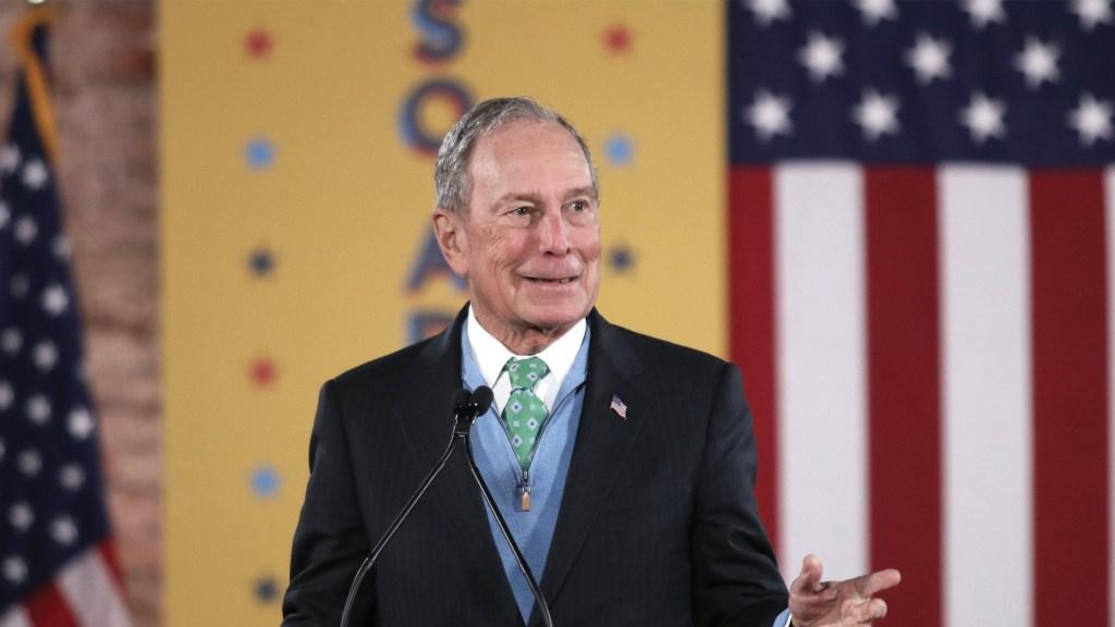 Bloomberg contrata influencers y difunde memes para fomentar campaña presidencial - Foto de EFE