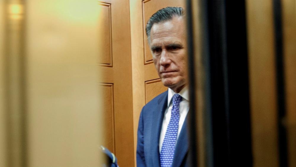 Mitt Romney, un enemigo de Trump en filas republicanas - Foto de EFE