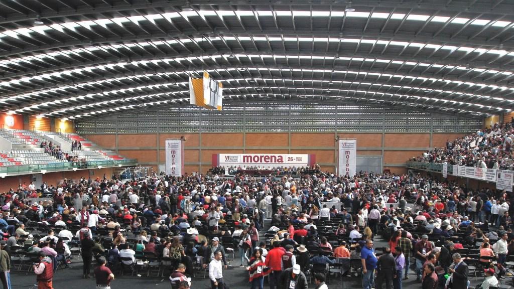 López Obrador avala que INE organice encuesta para renovar dirigencia de Morena - Foto de Notimex
