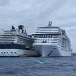 Aplican protocolos de sanidad en crucero de Cozumel