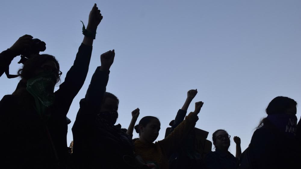"""Afirma AMLO que """"conservadores"""" están en movimiento de mujeres - Foto de Notimex"""