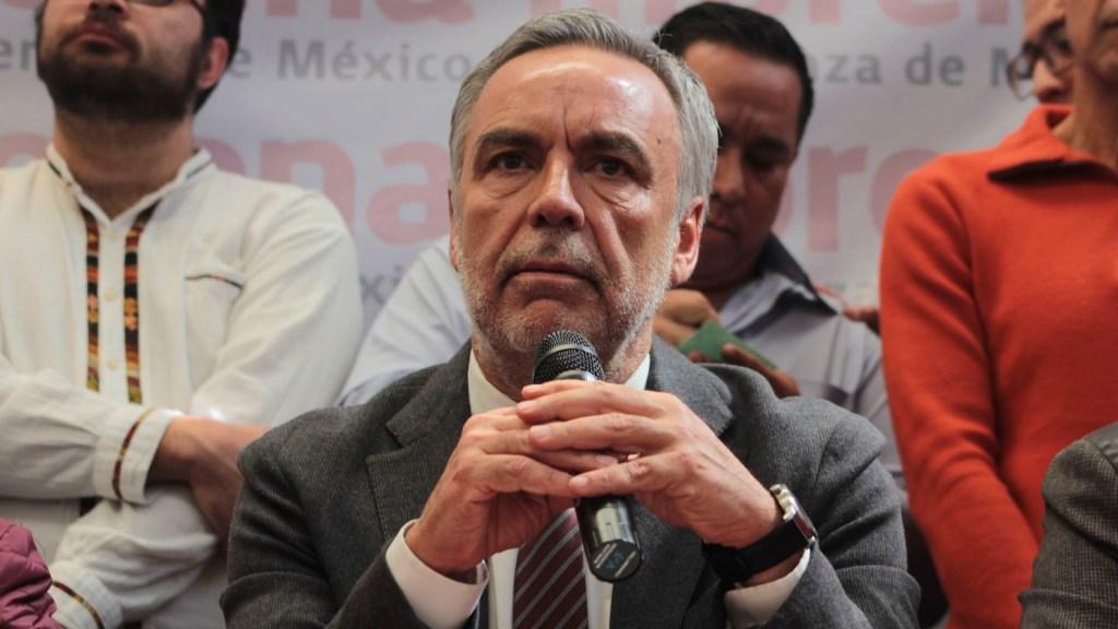 Ramírez Cuéllar confirma alianza de Morena con PT y PVEM para 2021 - Muñoz Ledo reconoce a Ramírez Cuéllar como presidente interino de Morena
