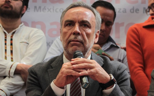 Pide Ramírez Cuéllar que UNAM e IPN auditen encuesta de Morena - Muñoz Ledo reconoce a Ramírez Cuéllar como presidente interino de Morena