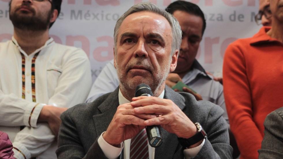Ramírez Cuéllar seguirá como dirigente de Morena hasta 2021 - Muñoz Ledo reconoce a Ramírez Cuéllar como presidente interino de Morena