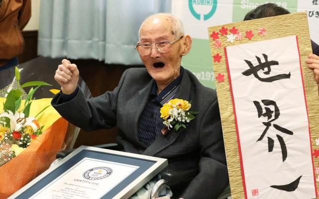 Murió el hombre más viejo del mundo 11 días después de recibir el Guinness - Murió el hombre más viejo del mundo 11 días después de recibir el Guinness