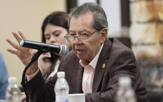 TEPJF no tiene competencia en método de elección de Morena, considera Muñoz Ledo - En la foto, el diputado Porfirio Muñoz Ledo. Foto de @PMunozLedo