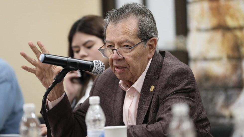 Hay consenso para que no se comenta ninguna falla constitucional: Porfirio Muñoz Ledo - En la foto, el diputado Porfirio Muñoz Ledo. Foto de @PMunozLedo