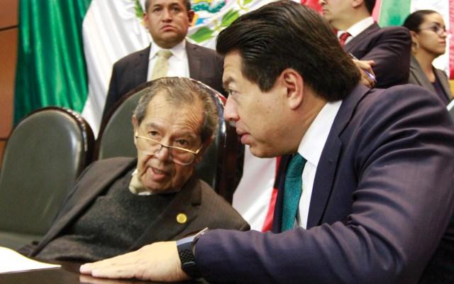 Mario Delgado asegura que desconoce propuesta migratoria de Muñoz Ledo - Foto de Notimex