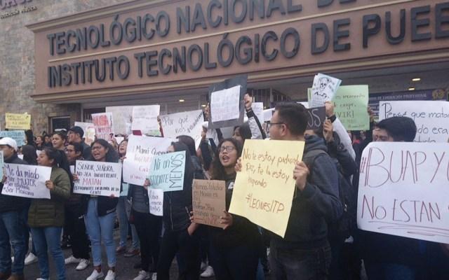 Universidades se suman a protestas por asesinato de estudiantes en Puebla - Foto de 24 Horas Puebla