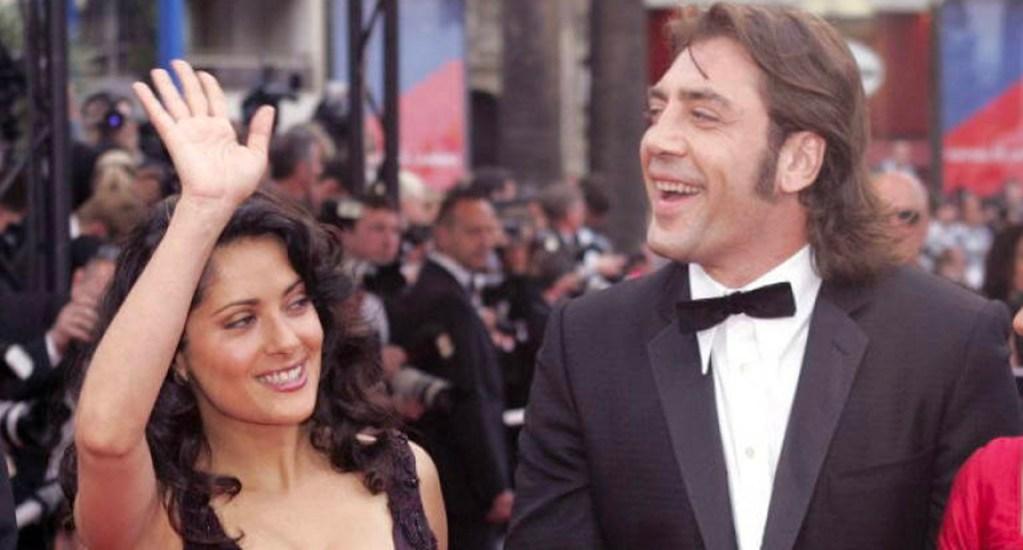 "Salma Hayek enseñó a Javier Bardem a hablar con acento mexicano para la película ""The Roads Not Taken"" -"