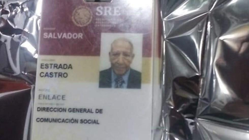 Asaltan y golpean al periodista Salvador Estrada Castro - Salvador Estrada Castro SRE