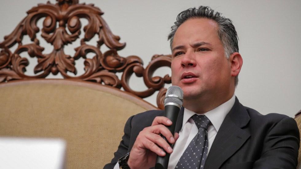 Confirma Santiago Nieto cuentas congeladas de Luis Cárdenas Palomino y Ramón Pequeño - Foto de Notimex