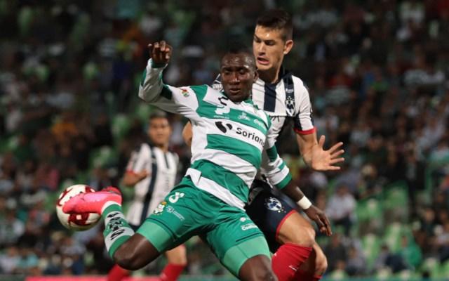 Santos empata a cero ante Monterrey en la ida de cuartos de Copa MX - Santos Laguna partido Monterrey Copa MX 11022020