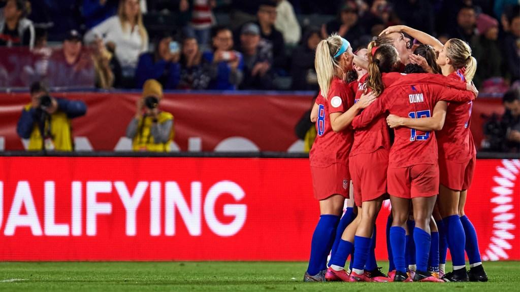 México recibe goleada de EE.UU. y se despide de Tokio 2020 - Selección Femenil Estados Unidos partido México
