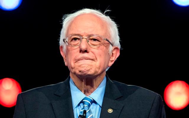 Demócratas atacan a Bernie Sanders por apoyar políticas de Cuba - Senador Bernie Sanders. Foto de EFE
