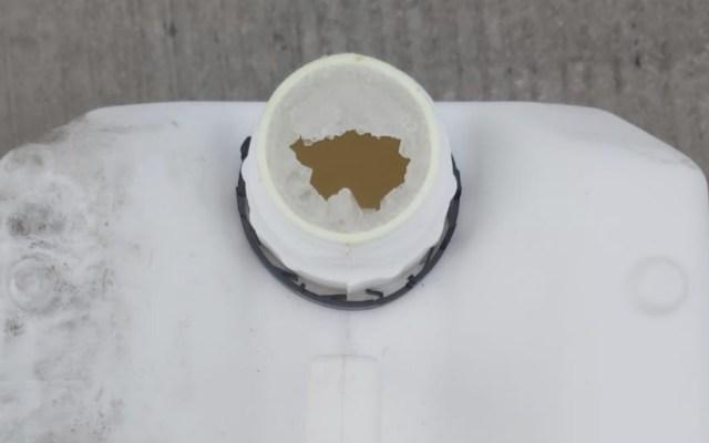 Guardia Nacional decomisa 240 litros de metanfetamina en Sonora - Foto de Guardia Nacional
