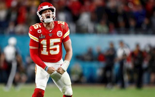Apuestas postulan a Mahomes como favorito para ser MVP de la temporada 2020 - Super Bowl Kansas City Chiefs