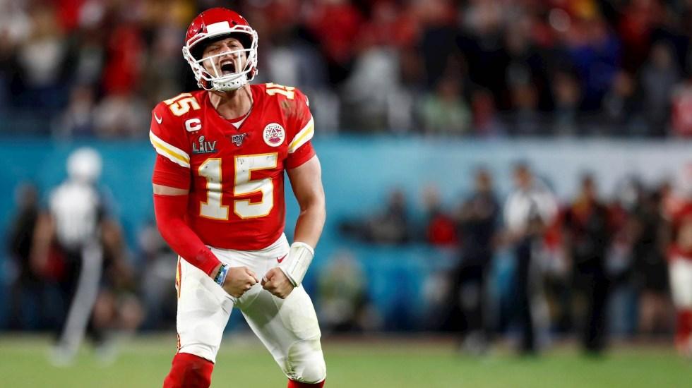 Patrick Mahomes revela que quiere jugar muchos años con Chiefs - Super Bowl Kansas City Chiefs