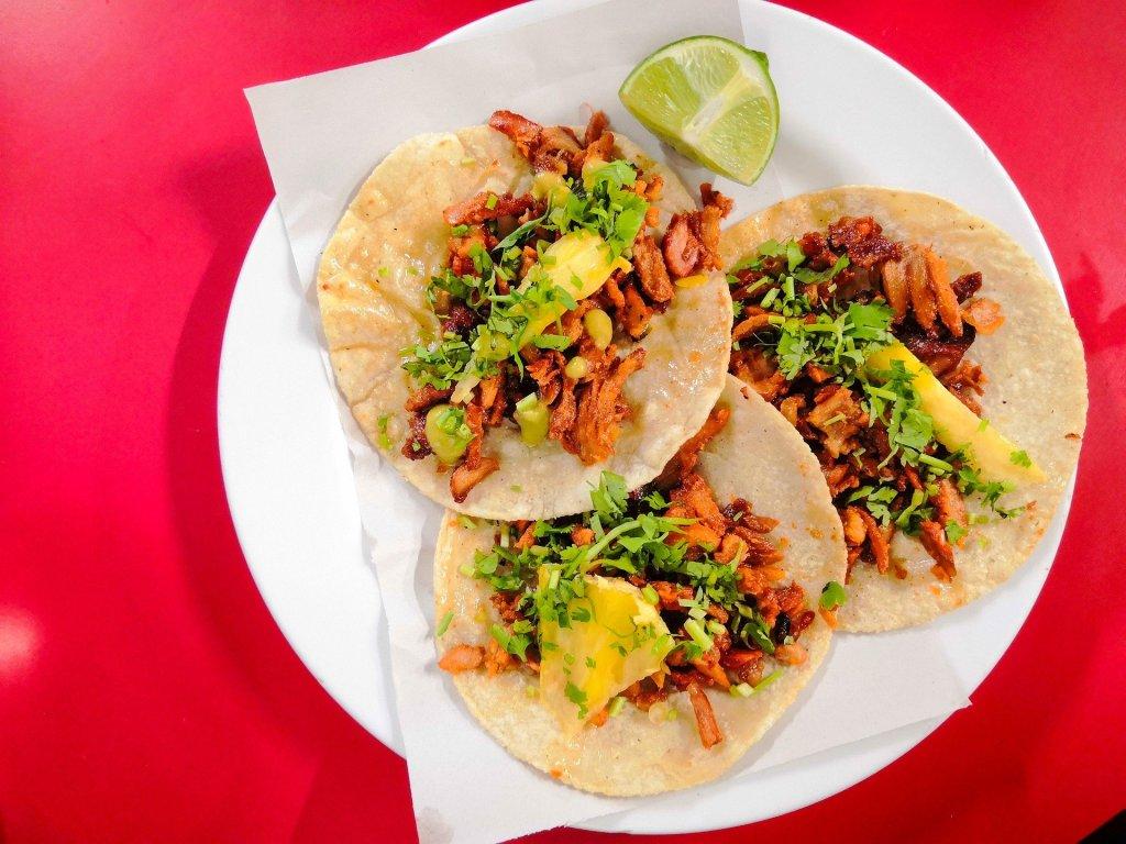 Tacos al pastor, la comida emblemática de la Ciudad de México - Foto de Pixabay.