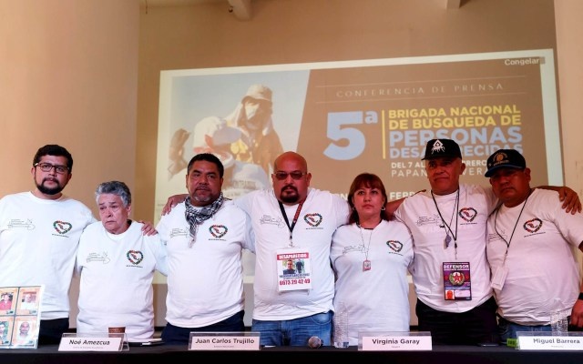 Voluntarios buscan a desaparecidos en Veracruz - Veracruz desaparecidos voluntarios búsqueda