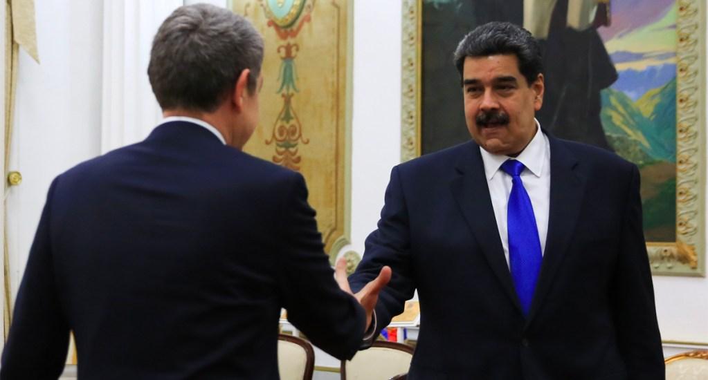 Gobierno español aclara que el expresidente Zapatero viajó a Venezuela a título personal - Gobierno español aclara que el expresidente Zapatero viajó a Venezuela a título personal