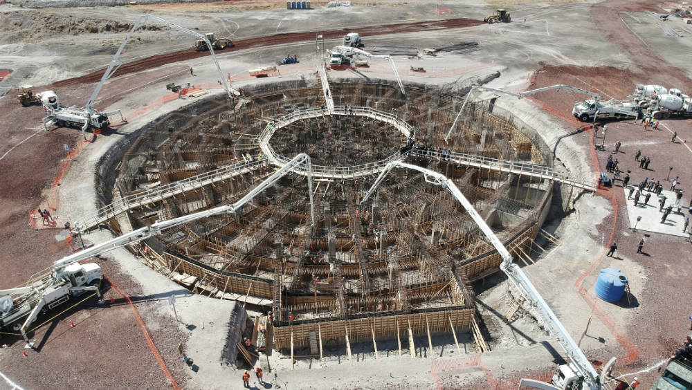 Aeropuerto de Santa Lucía es el más moderno que se construye en el mundo: AMLO - Aeropuerto de Santa Lucía. Foto de Notimex