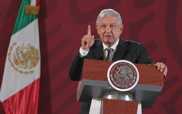 Se 'congelan' sueldos de altos funcionarios públicos, anuncia López Obrador - Foto de Notimex