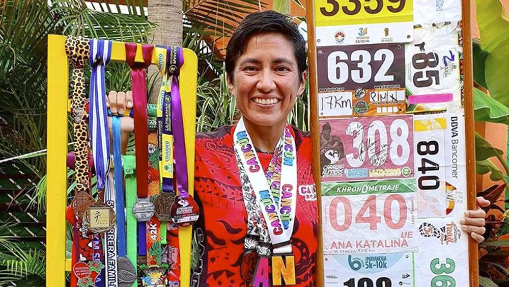 Mexicana corre 162.5 km en 24 horas; busca apoyo para ir a campeonato - Mexicana corre 162.5 km en 24 horas; busca apoyo para ir a campeonato