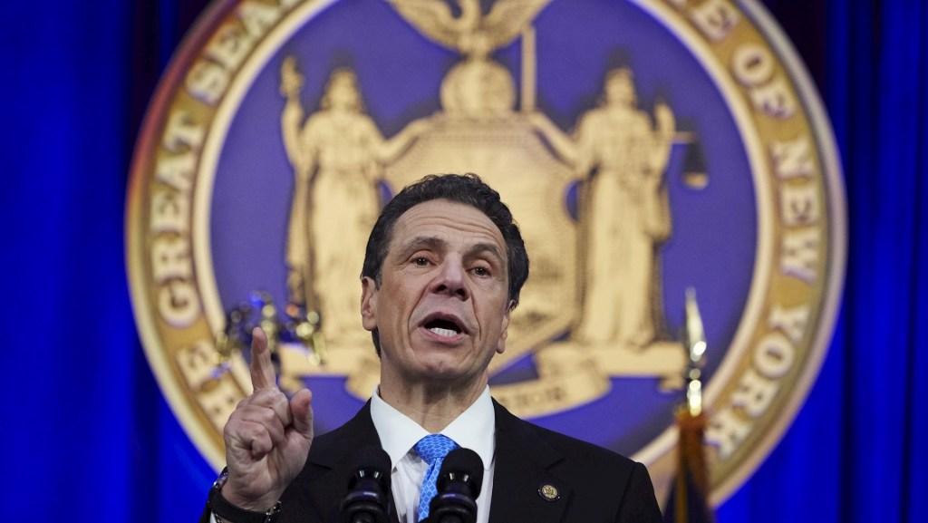 Gobernador de Nueva York en medio de una tormenta por señalamientos de acoso - En la imagen, el gobernado de Nueva York, Andrew Cuomo. Foto de EFE/James Keviom/Archivo.