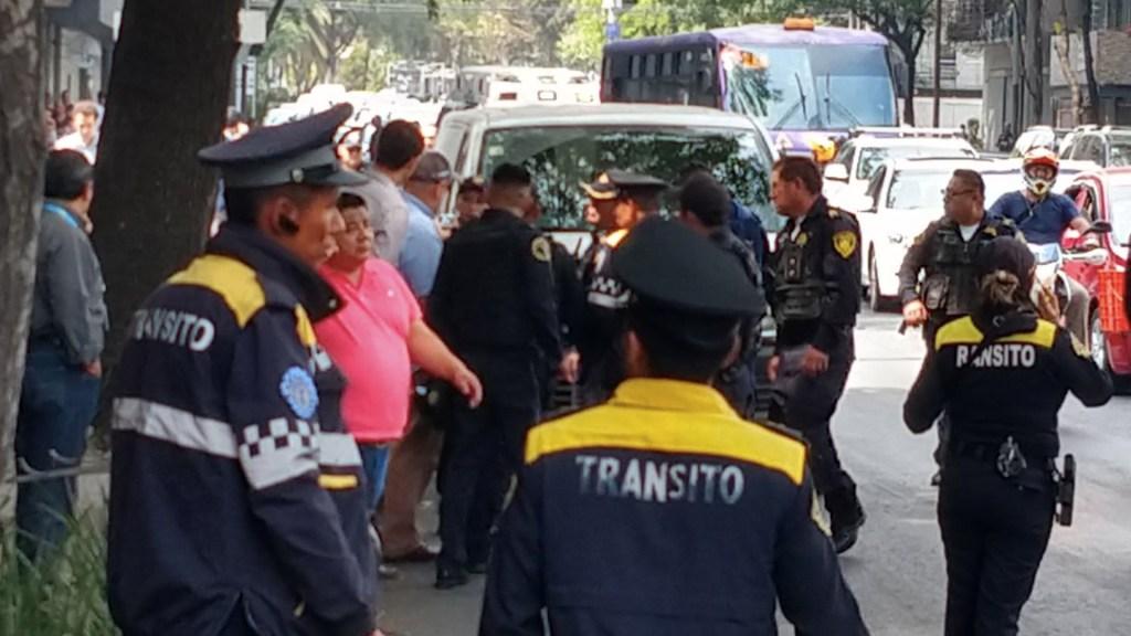 Intento de asalto en inmediaciones de Torre Diana deja un lesionado - Foto de @multidanza