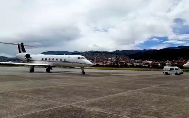 Avión de la Fuerza Aérea Mexicana aterriza en Cusco para rescatar a la sra. Ethel Trujillo - avión cusco perú