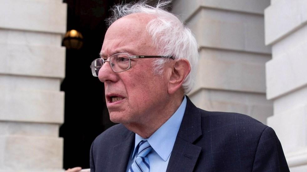 El dilema de Sanders: dejar la contienda o seguir su revolución - Bernie Sanders Estados Unidos Demócrata