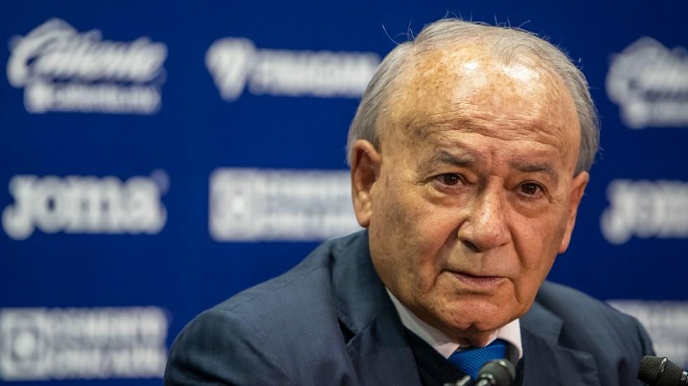 Billy Álvarez renuncia a la dirección de Cruz Azul - Billy Álvarez, presidente del Cruz Azul. Foto de Mexport