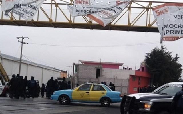 Tren de carga reanuda servicio en Puebla tras liberación de vías - Foto de Radio Tepeaca