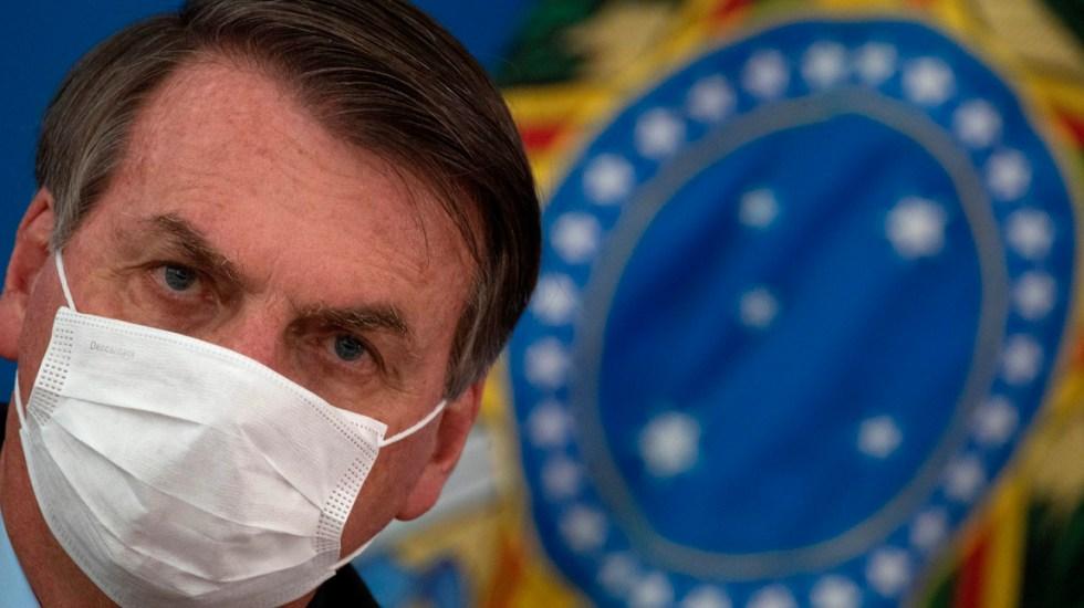 Jair Bolsonaro informa de manifestacionesen su favor pese a críticas por COVID-19 - Mientras se intensifican las críticas por su gestión en la pandemia COVID-19, el presidente de Brasil, informó que están previstas manifestacionesen su favor