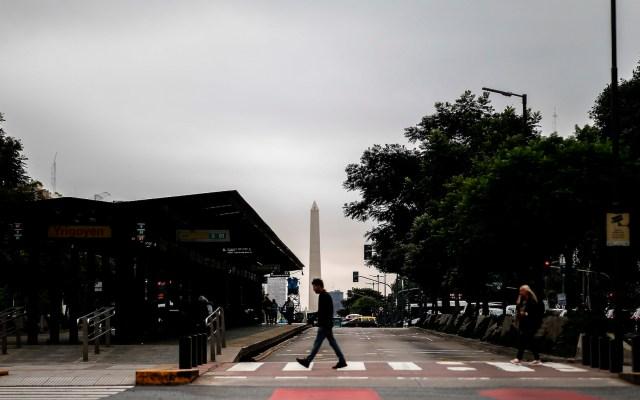 Argentina aprueba aislamiento obligatorio por COVID-19 - Foto de EFE