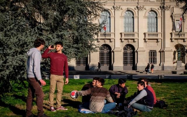 Italia cierra todas las escuelas y universidades hasta el 15 de marzo por COVID-19 - El Gobierno italiano ha aprobado el cierre desde mañana y hasta el 15 de marzo de todos los colegios y universidades como medida de precaución ante la difusión del coronavirus