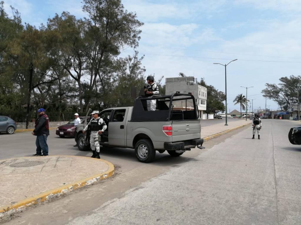 Cierran Playa Miramar, en Tamaulipas, por COVID-19 - Foto de Expresso Press