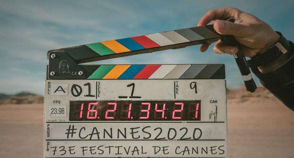 Cannes amplía plazos de inscripción de películas ante COVID-19 - Claqueta con el inicio de la edición 73 del Festival de Cannes. Foto de Jacob Owens / Unsplash