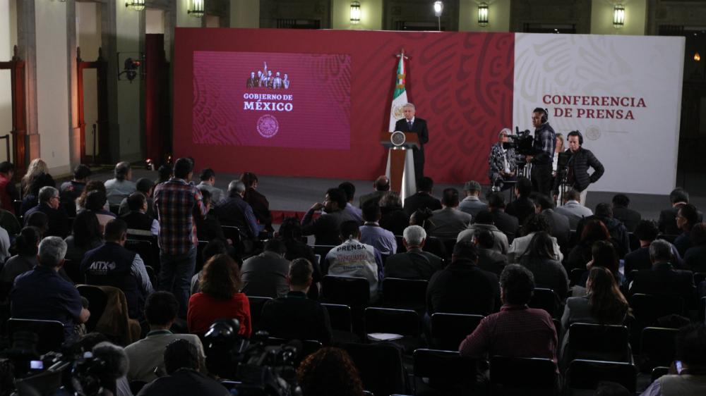 ¿Qué pasa con los reporteros y blogueros que cubren la conferencia del presidente? - Foto de Notimex