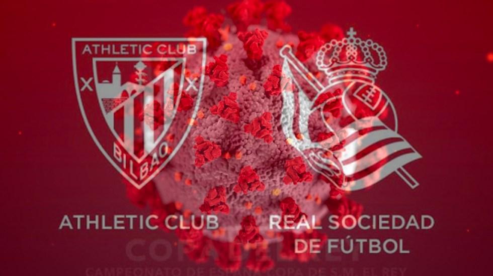 Aplazan final de Copa del Rey por COVID-19 - La RFEF confirmó el aplazamiento de la final de la Copa del Rey prevista para el 18 de abril de común acuerdo con la Real Sociedad y el Athletic