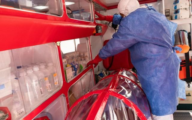 Paciente contagiado de COVID-19 en Sonora tuvo contacto con nueve personas - Foto de Notimex