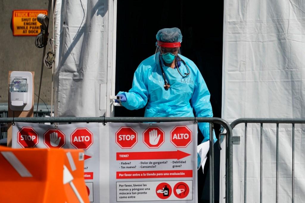 Nueva York instala morgue en el mismo lugar utilizado en el 11S - Foto de EFE