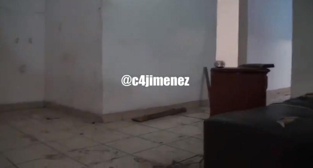 #Video El cuarto que utilizaba La Unión Tepito para torturar a víctimas - Cuarto de tortura de La Unión Tepito. Captura de pantalla / @c4jimenez