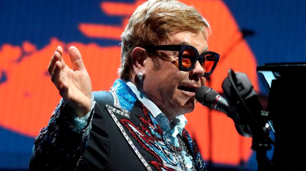 Elton John dará concierto benéfico a favor de la lucha contra el COVID-19 - Foto de EFE
