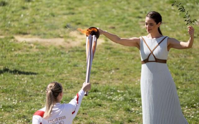 Estados Unidos solicita la suspensión de los Juegos Olímpicos - Encendido de la antorcha olímpica de Tokyo 2020. Foto de @Tokyo2020es