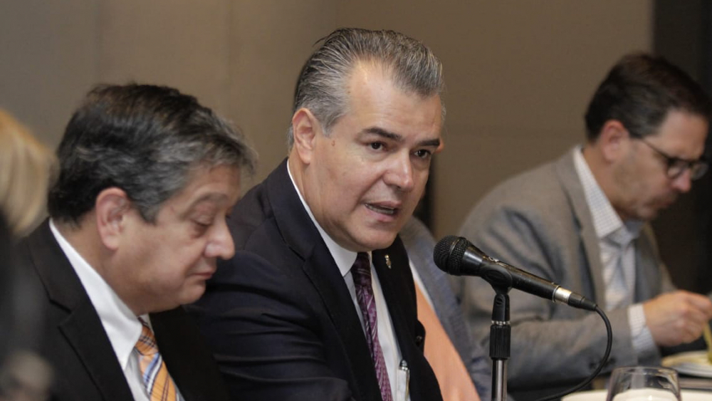 Empresarios somos aliados, no sus enemigos, dice la Concamin a AMLO - Francisco Cervantes, presidente de Concamin. Foto de Concamin