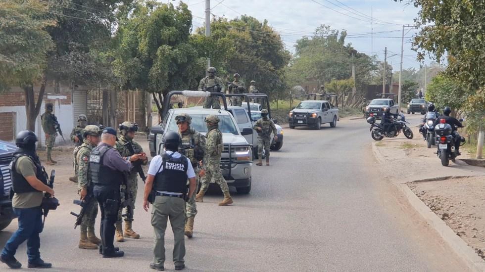 Fuerzas federales refuerzan vigilancia en Culiacán tras balaceras - Fuerzas federales refuerzan vigilancia en Culiacán tras balaceras