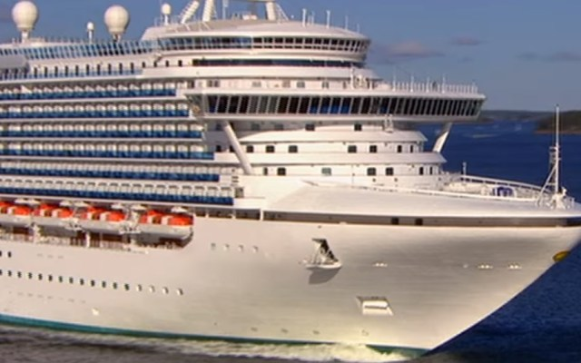 Crucero Grand Princess con 21 casos de COVID-19 desembarcará en Oakland - 'Grand Princess'. Foto de Cruceros Princess